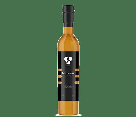 Mielaigre, vinaigre de miel produit et commercialisé par Romain Apiculture