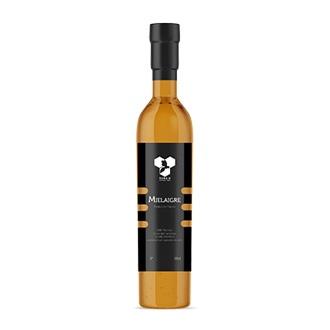 Bouteille Mielaigre réalisée à base de miel et d'eau en 50cL commercialisé par Romain, Apiculteur en Aveyron